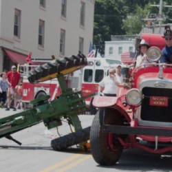 Police, city attorney examine antique firetruck involved in Bangor July 4 parade fatal collision