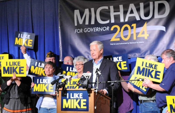 Mike Michaud officially announces his intention to run for governor of Maine at the Franco-American Heritage Center in Lewiston Thursday at noon.