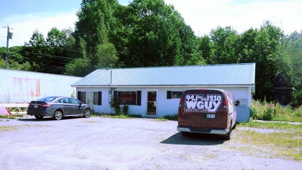 The location of the former convenience store and current broadcaster of four radio stations.