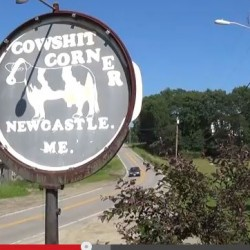 'Cherch of the Holy Cow' gathers to replace controversial sign