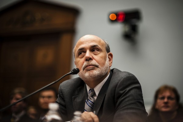 U.S. Federal Reserve Chairman Ben Bernanke delivers his semi-annual monetary policy report to Congress before the House Financial Services Committee in Washington, in this file photo from July 17, 2013.