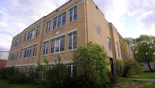 The former Brewer Middle School building in Brewer.