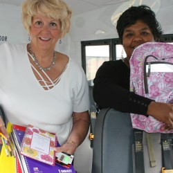Portland nonprofit donates 512 backpacks, supplies to Bangor, Indian Township schools
