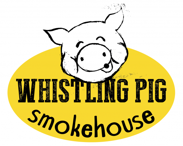 The logo for Whistling Pig Smokehouse, opening Oct. 16 at 735 Main St. in Bangor.