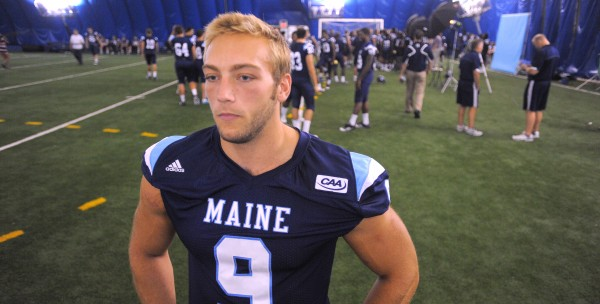 The University of Maine's Michael Cole, No. 9.