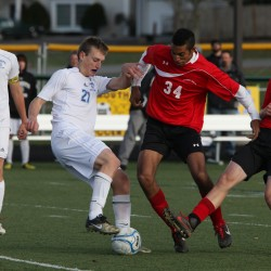 Camden Hills boys soccer team rallies to salvage tie in battle with Maranacook