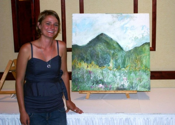 Artist Whitney Graham of Dresden will return to Presque Isle to participate in the Aug. 24 Paint the County event.
