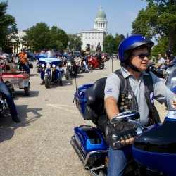 LePage honors 'superhero' fallen officers at police memorial