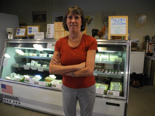 Cathe Morrill, the owner of State of Maine Cheese Co., is gearing up to celebrate the company's 30th anniversary on Saturday, August 3. The Route 1 store and kitchen offer cheeses, other Maine-made goods and even cheese making classes.