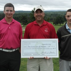 Bangor High golfers to play 100 holes for charity
