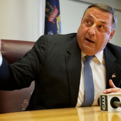 LePage heard telling GOP donors, lawmakers that Obama 'hates white people'