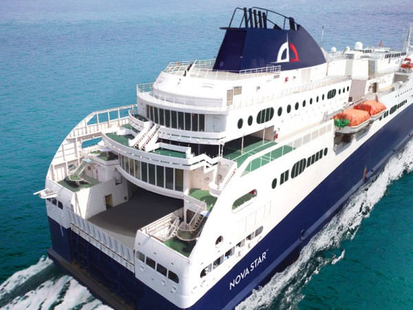 Quest Navigation, which has submitted a proposal to operate a new ferry service between Portland and Yarmouth, Nova Scotia, recently signed a long-term charter agreement to operate the Nova Star if the company's proposal is successful.