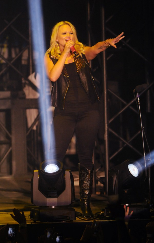 Miranda Lambert  performs onstage at the Darlings Waterfront Pavilion on Friday.