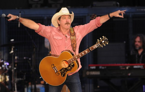 Kix Brooks performs onstage at the Darlings Waterfront Pavilion on Friday.