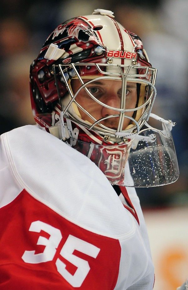 Detroit Red Wings goalie Jimmy  Howard, a former University of Maine star, is one of six goalies who has been invited to the U.S. national team's orientation camp.