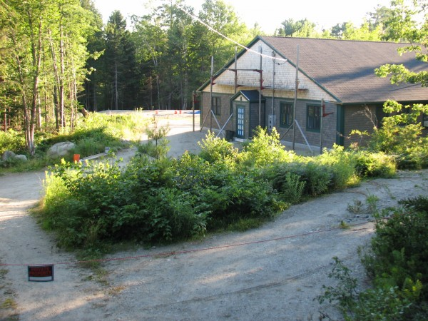 The Goose Cove Road property in Trenton where Richard Bellittieri was building a home before he disappeared in June 2012. State police found Bellittieri's remains on the property on Sunday.
