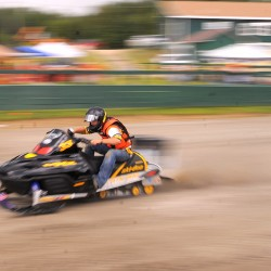 Snowmobile drag racers prepare to fly next weekend in Medway
