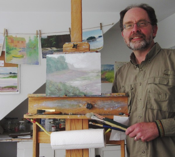 Michael Chesley Johnson is one of the artists in the studio tour.