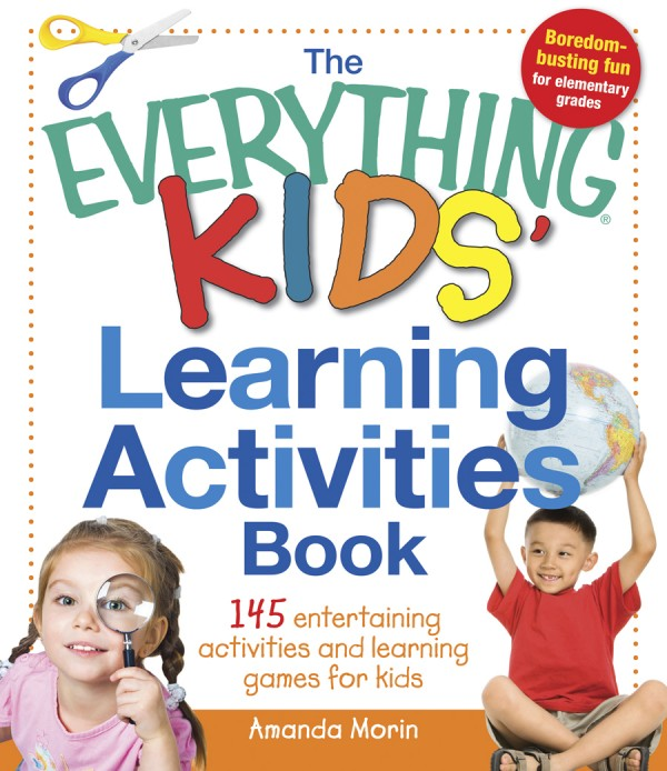 Educator Amanda Morin of Bangor has written &quotThe Everything Kids' Learning Activities Book.&quot