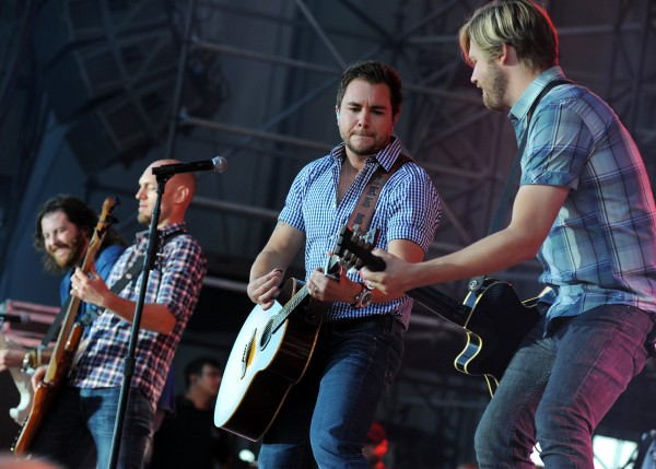 The Eli Young Band performs at Darlings Waterfront Pavilion Wednesday evening before Kenny Chesney.