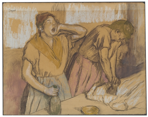 Degas Les repasseuses courtesy of the Dyke Collection and National Gallery of Art