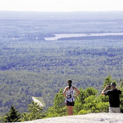 Cadillac South Ridge Trail offers outstanding views of Acadia NP