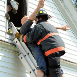 Towns join together for fire training