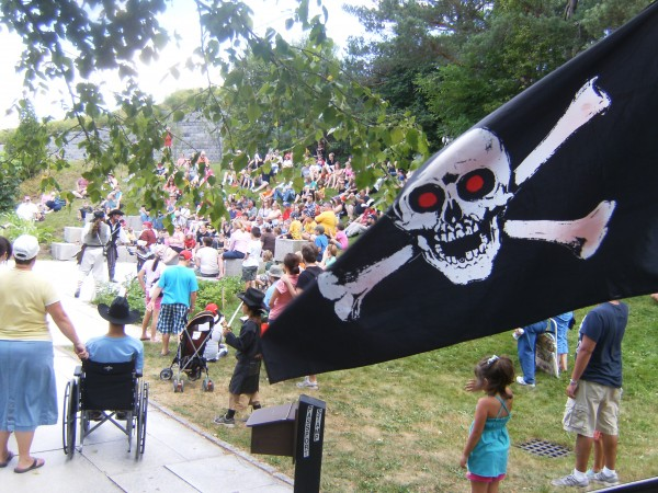 Scene of Fort Knox Pirate Day-2012