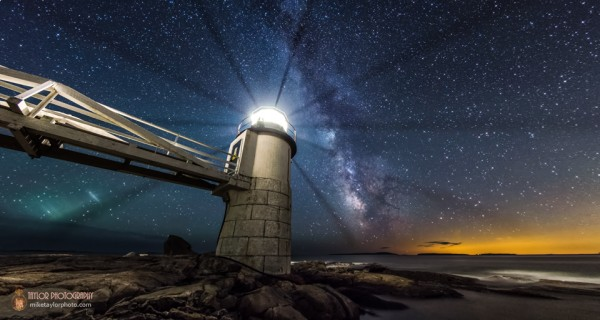 Marshall Point Lighthouse.