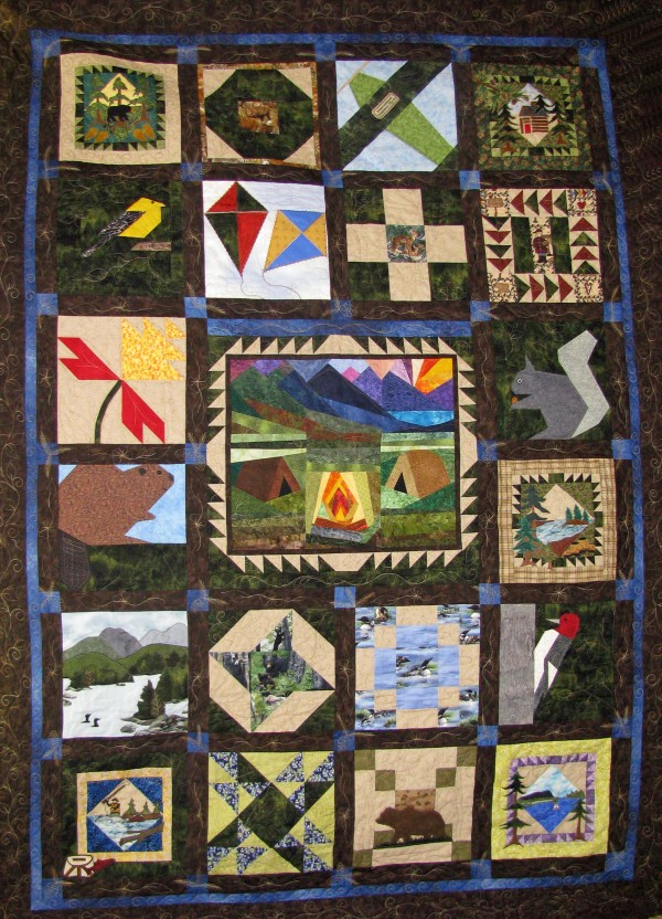Summer in Moosehead Quilt to be raffled off.