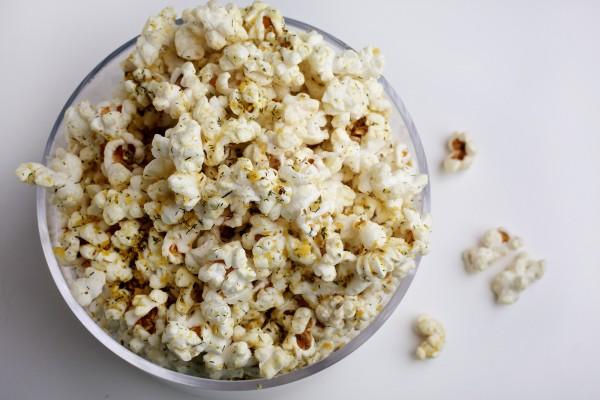 Herbed popcorn.