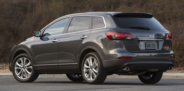 The 2013 Mazda CX-9 Grand Touring crossover-utility vehicle puts function before form in a beautiful way.