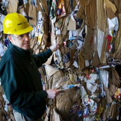 Plastic shopping bags are recyclable, but still a headache for waste managers