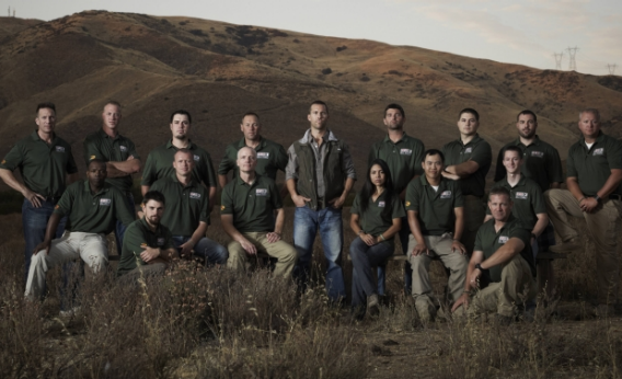 The cast of the current season of Top Shot.
