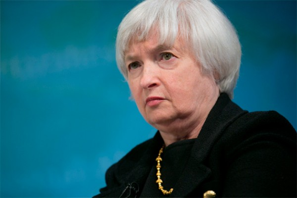 Janet Yellen, vice chairman of the U.S. Federal Reserve in Washington, on April 16.