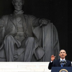 Obama, marchers mark 50 years since King's 'Dream' speech