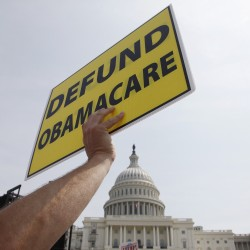Republican leader looks to delay Obamacare in exchange for debt agreement