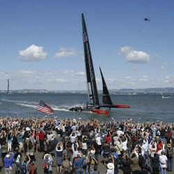 Olympic gold medalist killed when Swedish boat capsizes on San Francisco Bay