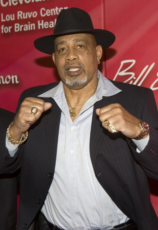 Former heavyweight boxer Ken Norton arrives for the 16th annual Keep Memory Alive &quotPower of Love Gala&quot and 70th birthday celebration for Muhammad Ali at the MGM Grand Garden Arena in Las Vegas, Nevada in this February 18, 2012 file photo. Norton, the former heavyweight boxing champion who famously broke Muhammad Ali's jaw in a 1973 bout, died on September 18, 2013 at a hospital in Arizona, according to his friend and corporate manager Patrick Tenore. He had been suffering from congestive heart failure.