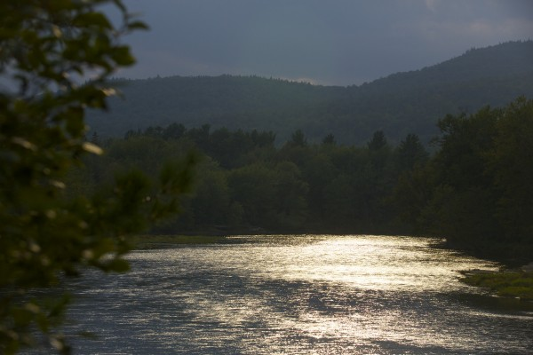 The East Branch of the Penobscot River runs through parts of the area where Elliotsville Plantation Inc. has opened 40,000 acres to hunting and other recreational use.