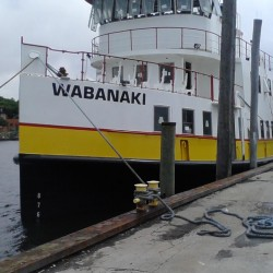 The Wabanaki, shown here while recently being fitted out in Rhode Island, will be Casco Bay Lines' newest ferry in eight years when it joins the fleet next week.