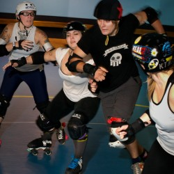 Women of all ages, occupations sparking growth of roller derby in Maine