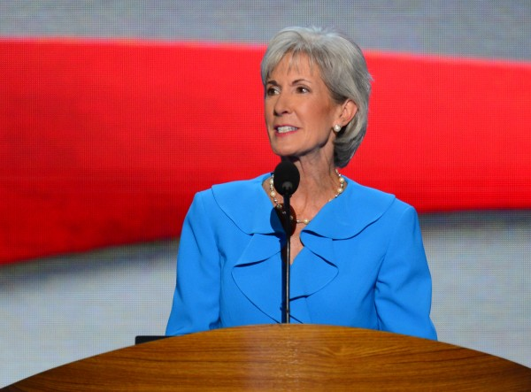 Kathleen Sebelius, secretary of Health and Human Services, speaks at the 2012 Democratic National Convention about progress against Medicaid fraud.