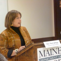 What is Maine's vision for work force development?