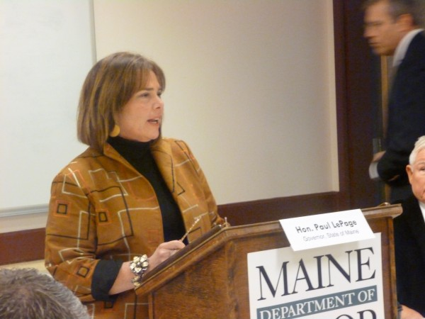 Maine Labor Commissioner Jeanne Paquette