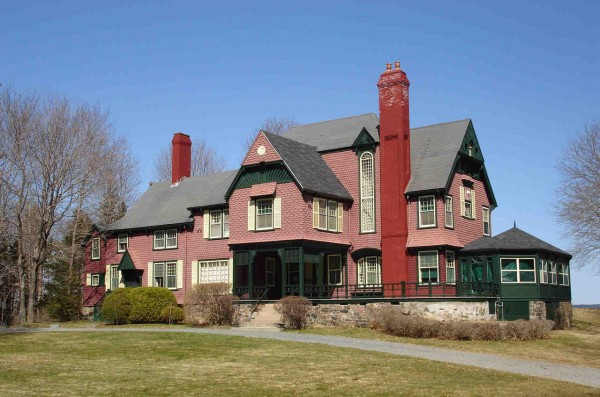 The mansion Redwood in Bar Harbor.