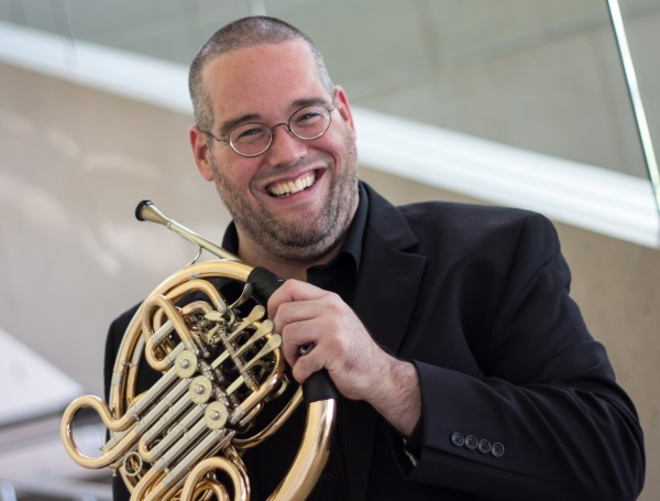 Grammy award winner Andrew Pelletier returns to the University of Southern Maine Friday for a brass performance.