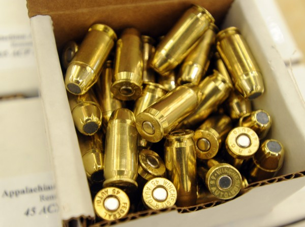 45 ACP ammo from Appalachain Ammunition Inc at the 2013 Annual Bangor Gun Show at the Cross Insurance Center this weekend.