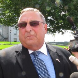 LePage delivers symbolic checks as 39 hospitals receive $490 million in MaineCare payments