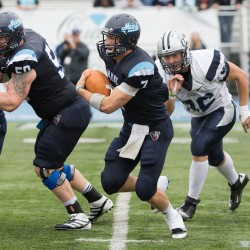 Jones' play helps UMaine football team overcome 'catastrophic' turnovers